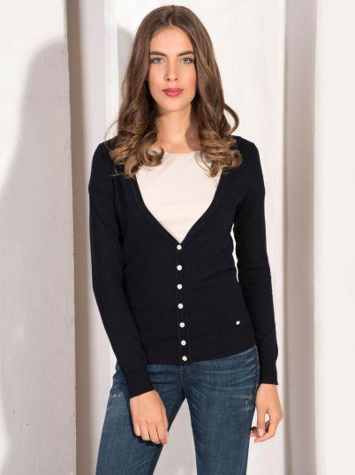 Ženski basic džemper