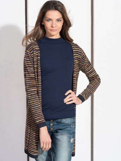 Džemper sa šarenim dezenom
