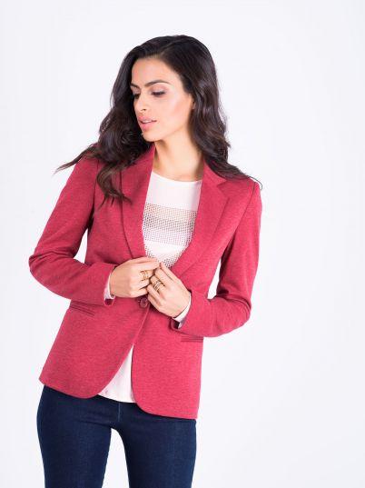 Ženski crveni sako