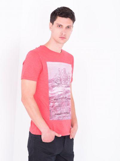 Crvena muška majica