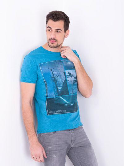 Plava letnja majica