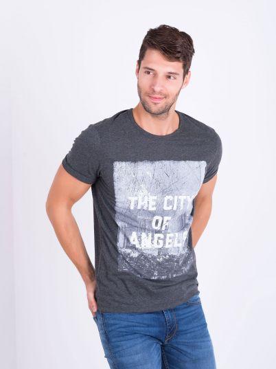 Muška majica printom