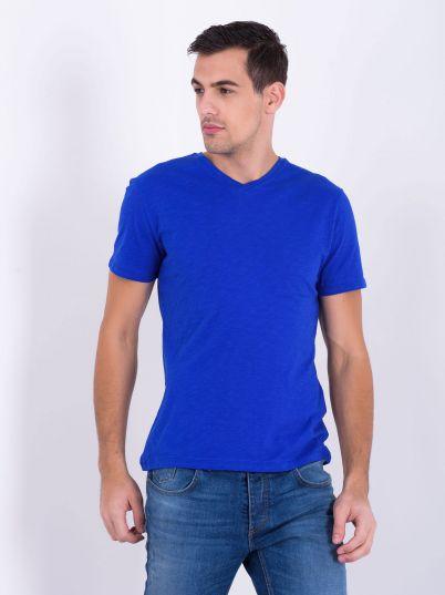 Plava muška majica