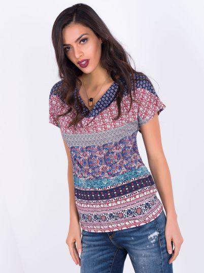 Šarena ženska majica