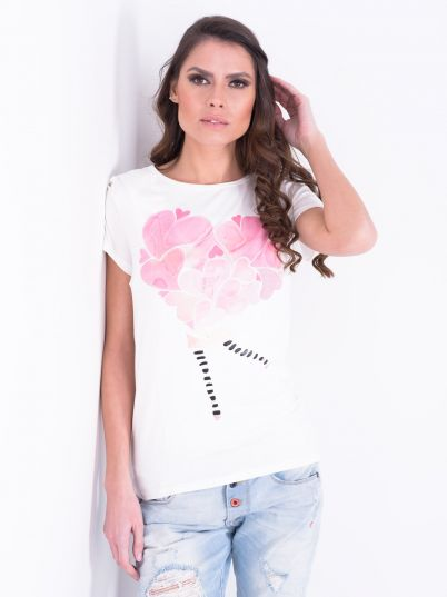 Majica sa srcima