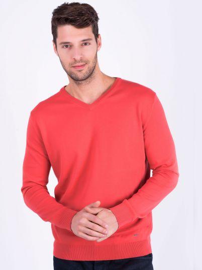 Muški crveni džemper