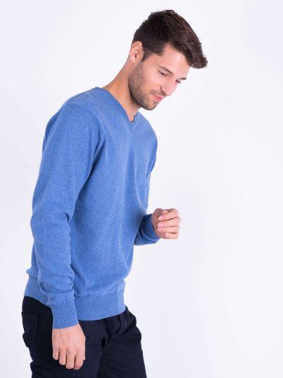 Muški plavi džemper